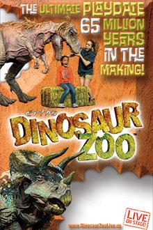 'Erth's Dinosaur Zoo Live Image