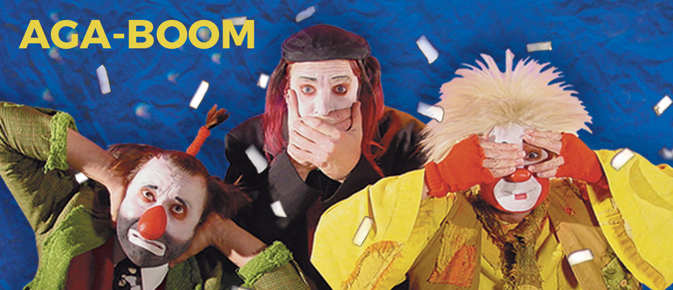 AGA-BOOM - Theater of Physical Comedy Header