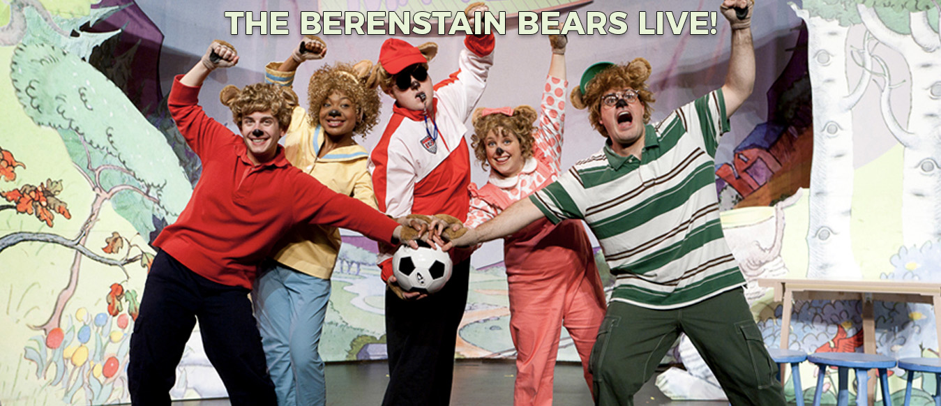 The Berenstain Bears LIVE! Header